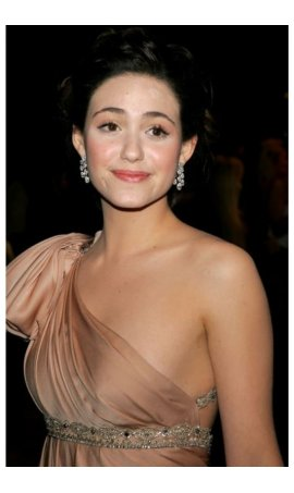 Emmy Rossum 15th Annual Elton John AIDS Foundation Academy Awards viewing party One Shoulder Red Carpet Celebrity Dress