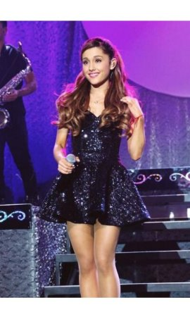 Ariana Grande Listening Sessions Sequin Red Carpet Celebrity Dress Online
